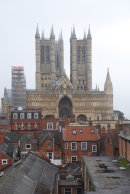 The Cathedral from the Castle walls