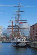 Tall Ship at the Albert Dock