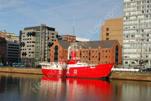 Old lightship at Liverpool