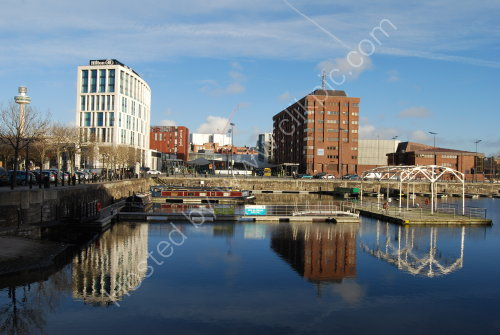 Reflections on Salthouse Dock