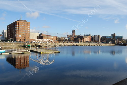 Across Salthouse Dock (with Cathedral)