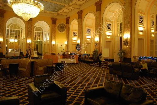 Inside the Adelphi Hotel - Liverpool