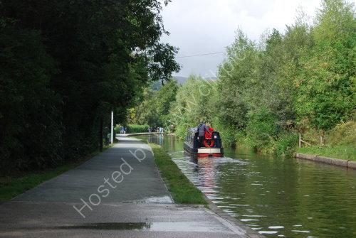 The Llangollen Canal @ Llangollen