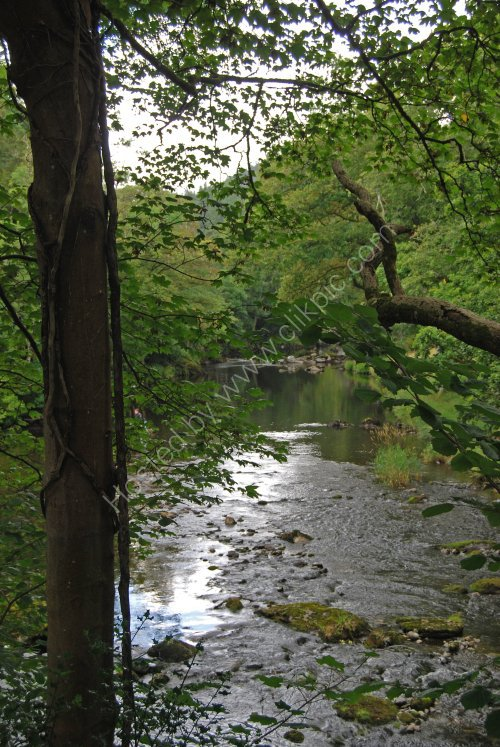 The River Llugwy at Betws-y-Coed