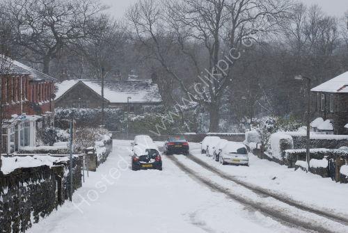 Snow on Finkil Street