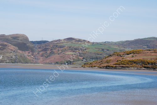 The River Dwyryd Estuary at Portmeirion