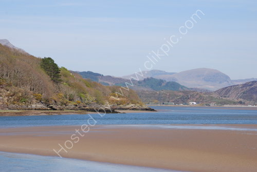 The River Dwyryd Estuary (and Snowdonia)