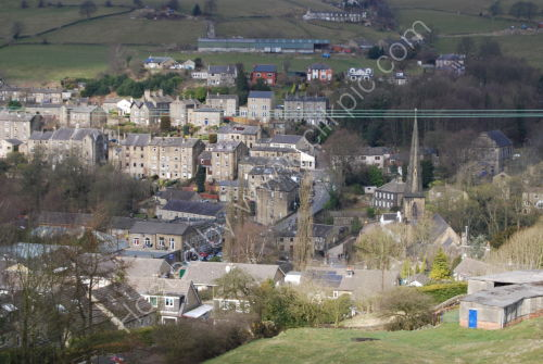Ripponden in the valley