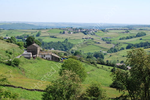 The valley between Barkisland and Outlane