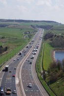 The M62 at Scammonden
