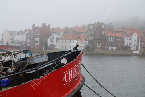 A misty Whitby