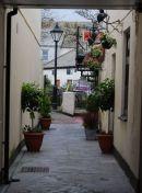 An alleyway in Truro