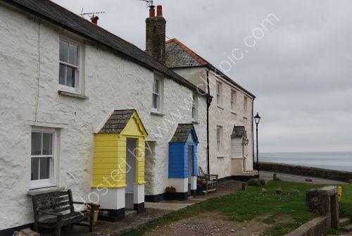 Colourful porches