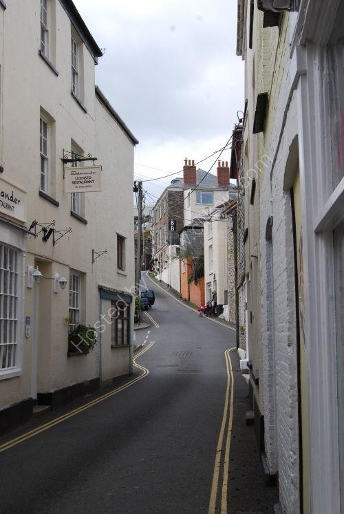 Narrow street at Mevagissey