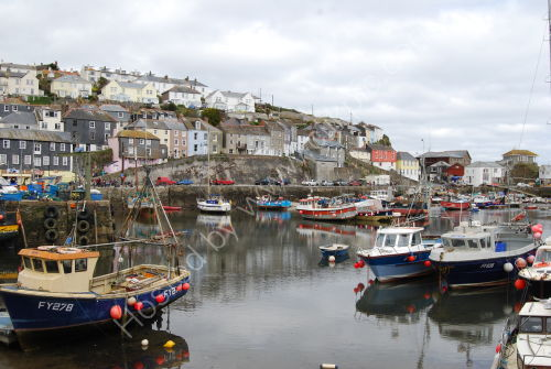 The harbour at Mevagissey