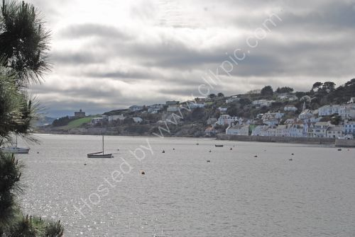 A wider shot of St. Mawes