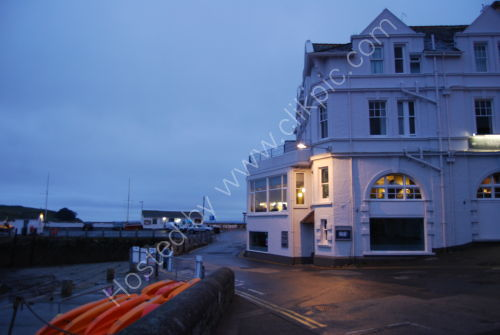 The Ship & Castle Hotel - evening