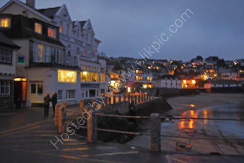 St. Mawes in the evening
