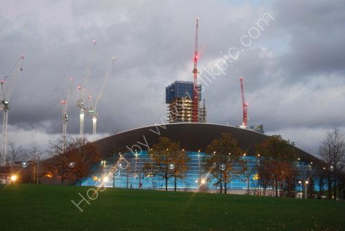 The 2012 Olympic Aquatics Centre