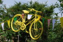 Yellow bike --- The TDF in Yorskshire 2014