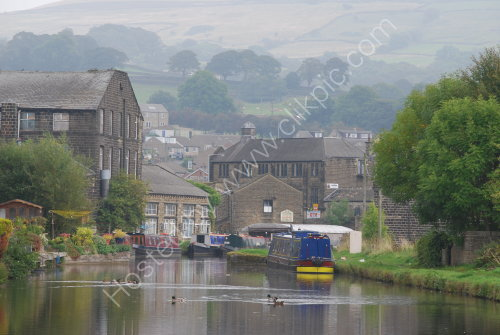 The Leeds to Liverpool Canal at Silsden