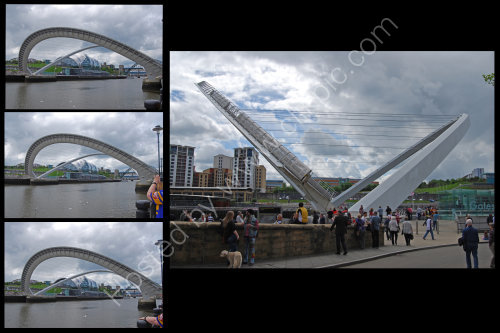 Millenium Bridge - Newcastle