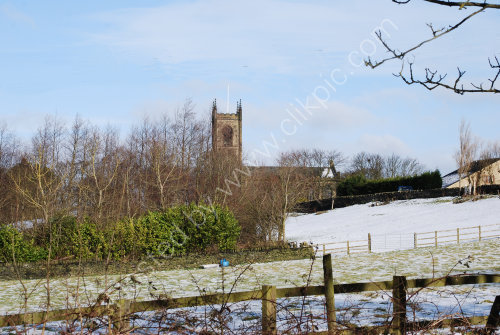 Coley Church in winter