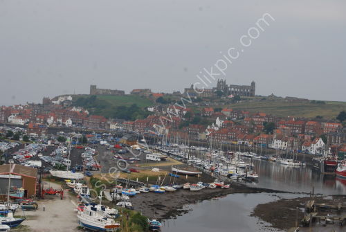 The River Esk and Harbour at Whitby