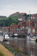Whitby harbour and River Esk