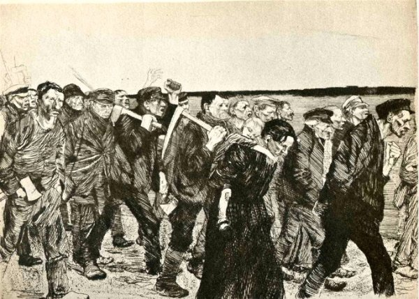 The March of the Weavers in Berlin (1897)