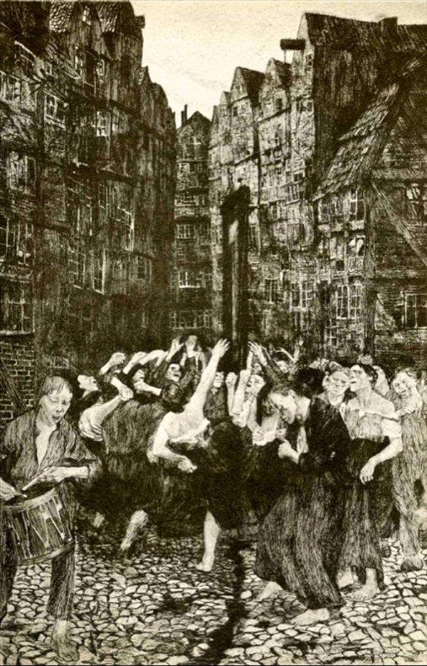Dance Around the Guillotine (1901)