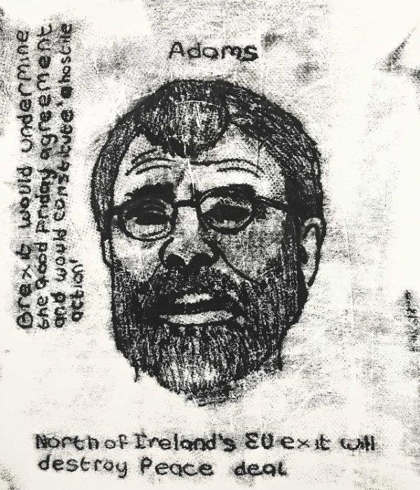Gerry Adams - by Nikkita Morgan (Ireland)