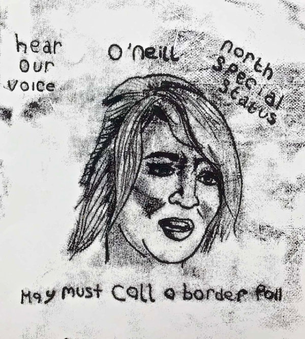 Michelle O'Neill - by Nikkita Morgan (Ireland)