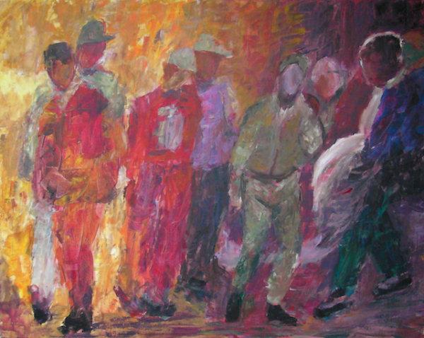 Endless waiting II - by Gabriella Cleuren (Belgium)