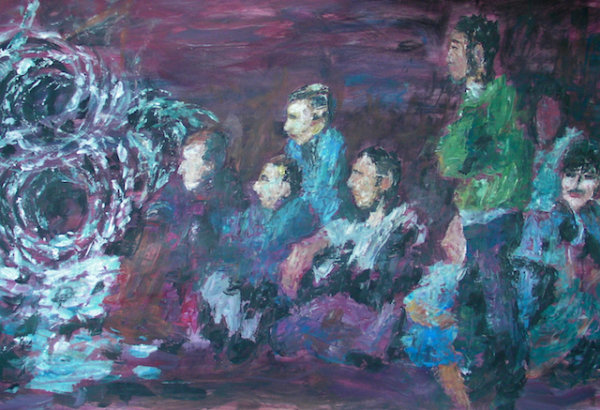 Excluded, 2016 - by Gabriella Cleuren (Belgium)