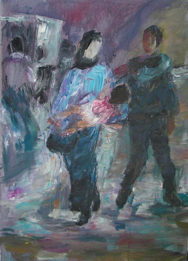 Fugitives, 2015 - by Gabriella Cleuren (Belgium)
