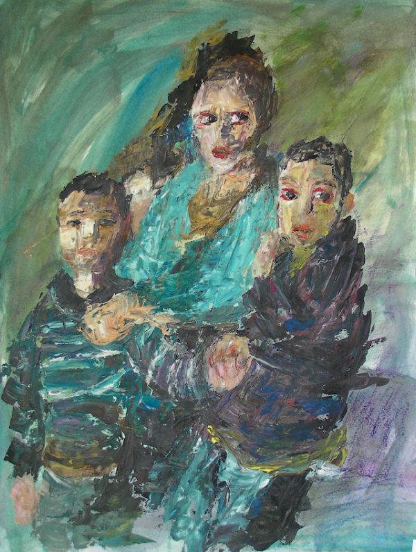 Survivors of a family, 2015 - by Gabriella Cleuren (Belgium)