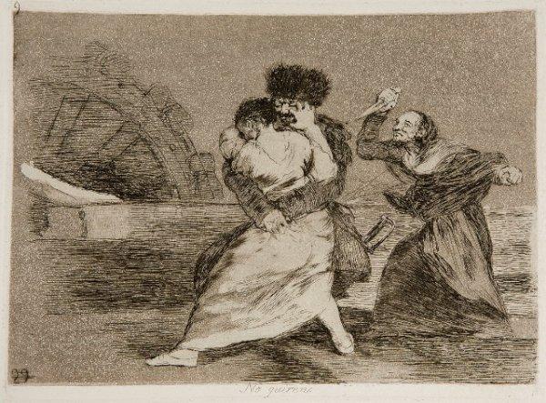 Goya - Disasters of War No. 9
