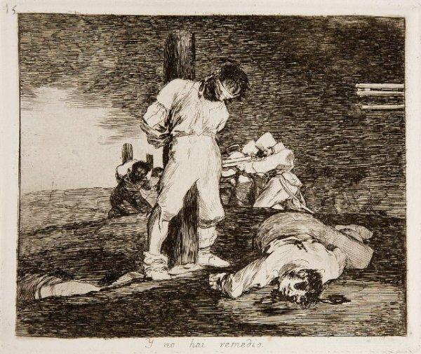 Goya - Disasters of War No. 15