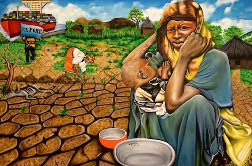 Hunger in The Land of Plenty - by O Yemi Tubi (Nigeria)
