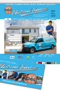 ELECTRICAL SERVICES CORNWALL - RE-BRAND & MARKETING