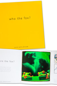 FOX PRINT - CONCEPT & BROCHURE PRODUCTION