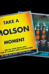MOLSON - ADVERTISING & PROMOTION