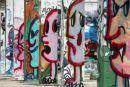 Graffiti pillars