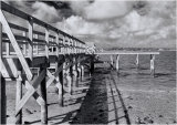 Pier and railings