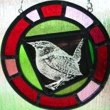Wren Glass Roundel