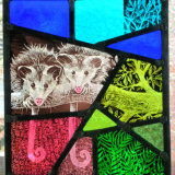 Possums on Glass