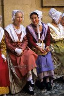 Women in Provencal Costume