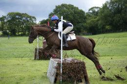 Equitation  event near Launceston
