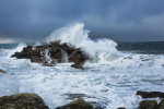 Rough seas of the Scilly Isles